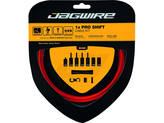 Jagwire 1X Pro Shift Schaltzugset orange